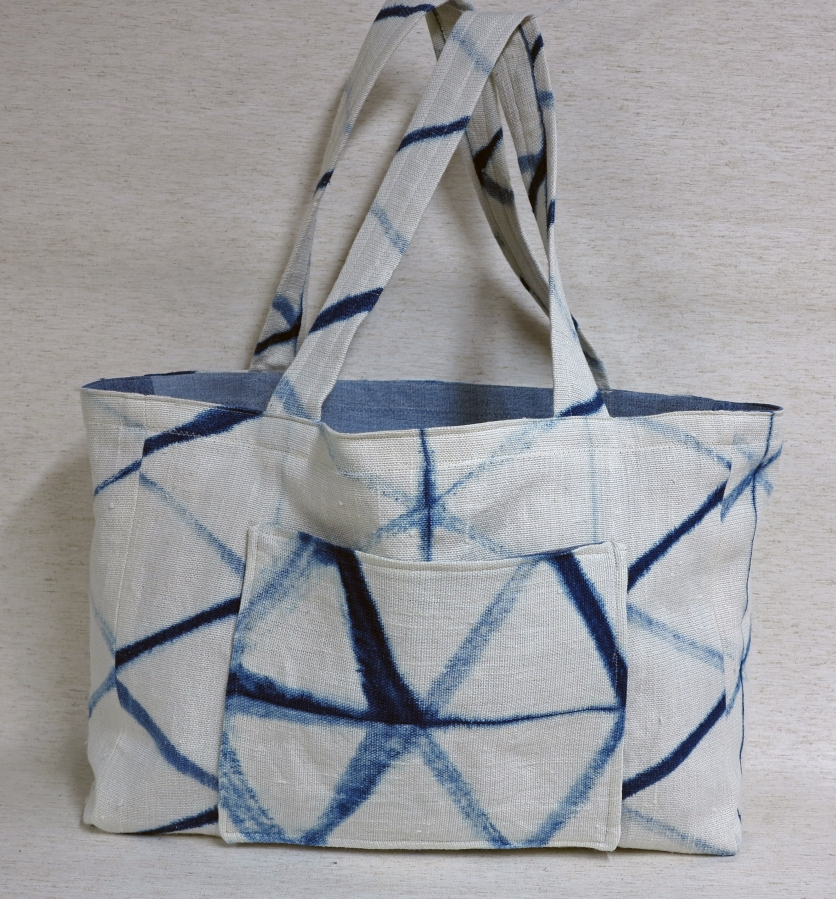 A Paper Fabric Tote Bag
